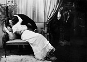 Couch Photos - KISSING, c1900 by Granger
