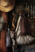 Tavern Posters - Kitchen - In an old tavern  Poster by Mike Savad