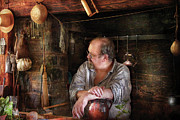 Colonial Man Art - Kitchen - The Colonial Chef  by Mike Savad
