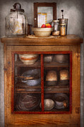 Old Stuff Posters - Kitchen - The cooling cabinet Poster by Mike Savad