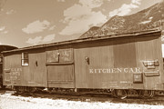 Georgetown Art - Kitchen Car by David Bearden