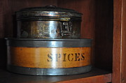 Spice Box Prints - Kitchen Spices Print by Daryl Macintyre