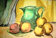 Water Jug Art - Kitchen Still life by Essie Nyanganyi