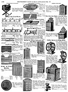 Spice Box Prints - Kitchenware, 1895 Print by Granger