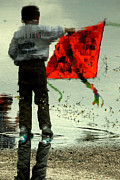 Kid Photo Originals - Kite-3 by Okan YILMAZ