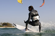 Para Surfing Art - Kitesurfing board by Hagai Nativ