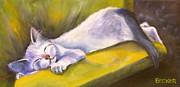 Kitten Dream Print by Susan A Becker