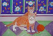 Cat Story Originals - Kittens With Wild Wool by Charles Stuart