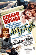 Arm Around Shoulder Posters - Kitty Foyle, Ginger Rogers, Dennis Poster by Everett