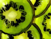 Kiwi Delish Print by Emily  Jimenez