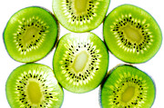 Snack Food Framed Prints - Kiwi Framed Print by Drew Castelhano