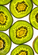 Health Food Framed Prints - Kiwi fruit Framed Print by Bruce Stanfield