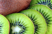 Kiwi Art Prints - Kiwi fruit Print by Rees Gordon