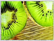 Kiwi Digital Art Prints - Kiwi Print by Olivier Calas