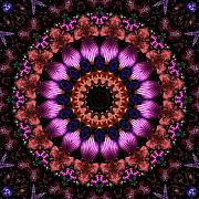 Photo Manipulation Digital Art Posters - Klassy Kaleidoscope Poster by Lyle Hatch