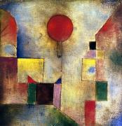 Cubism Art - Klee: Red Balloon, 1922 by Granger