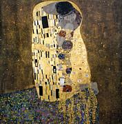 Klimt: The Kiss, 1907-08 Print by Granger