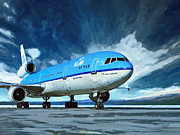 Klm Prints - Klm Md11 Print by Nop Briex