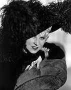 1936 Movies Prints - Klondike Annie, Mae West, 1936 Print by Everett