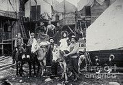 Old Gold Mine Framed Prints - Klondike Gold Rush, 1898 Framed Print by Photo Researchers, Inc.