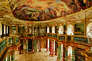 Library Digital Art - Kloster-Bavaria by John Galbo