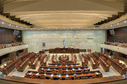 Seat Of Power Prints - Knesset Assembly Chamber Print by Noam Armonn