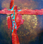 Cruciform Paintings - Knew Old New by Lenore Walker