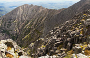 Baxter Peak Prints - Knife Edge Mount Katahdin Baxter State Park Print by Glenn Gordon