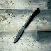 Desk Photo Prints - Knife Print by Joana Kruse