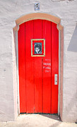 Entrance Door Photos - Knockin On Heavens Door by Steven Ainsworth