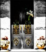 Heaven Digital Art Prints - Knocking on Heavens Door Print by Karen M Scovill