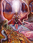 Visionary Art Paintings - Know Thy Self by Mani Price