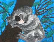 Koala Paintings - Koala by Kristen Diefenbach