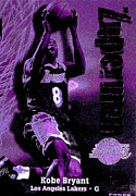 Original For Sale Posters - Kobe Bryant Poster by Marsha Heiken