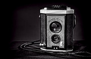 High Contrast Prints - Kodak Brownie Print by Scott Norris