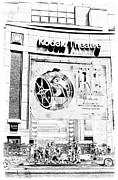 Kodak Theatre Print by Ricky Barnard