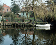 Canal Photo Originals - Koege Canal by Jan Faul