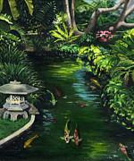 Koi Calm Print by Lisa Reinhardt