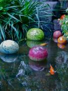 Koi Pond Art - Koi Pond Fantasy by Richard Mansfield