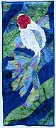 Swimming Tapestries - Textiles - Koi Serenity by Dolores Fegan
