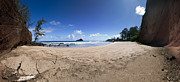 Koki Beach Hana Art - Koki Beach Hana Maui Hawaii Panoramic by Dustin K Ryan