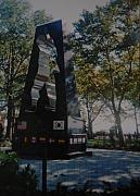 Park Scene Originals - Korean War Memorial by Rob Hans