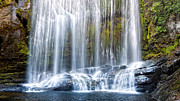 Nz Prints - Korokoro Falls Print by Barry Teutenberg