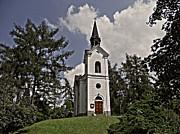 Kostel Panny Marie Lourdske Print by Juergen Weiss