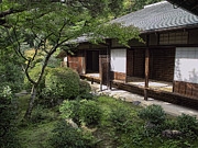 Koto-in Zen Tea House And Garden - Kyoto Japan Print by Daniel Hagerman