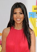 Straight Hair Prints - Kourtney Kardashian At Arrivals Print by Everett