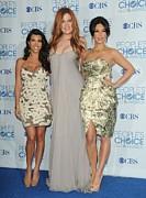 Kourtney Kardashian, Khloe Kardashian Print by Everett