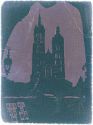Clock Tower Prints - Krakow Print by Irina  March
