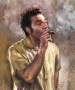 Cigar Metal Prints - Kramer Metal Print by Ylli Haruni