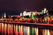 Moscow Photos - Kremlin, Moscow by Lars Ruecker